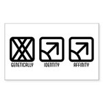 FemaleMale to Male Rectangle Sticker 10 pk)