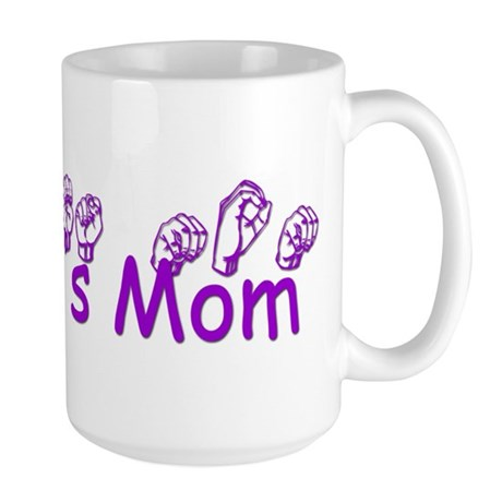 Jennie's Mom Large Mug
