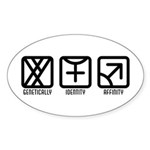 MaleFemale to Male Oval Sticker (50 pk)