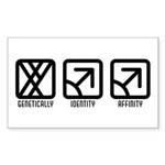 MaleMale to Male Rectangle Sticker 50 pk)