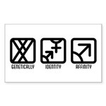 MaleBoth to Male Rectangle Sticker 50 pk)