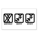 MaleBoth to Both Rectangle Sticker 50 pk)