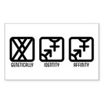 MaleBoth to Both Rectangle Sticker 10 pk)