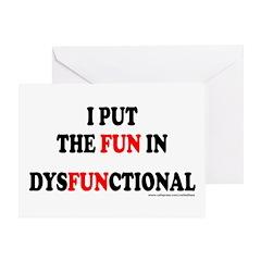 FUN IN DYSFUNCTIONAL Greeting Card