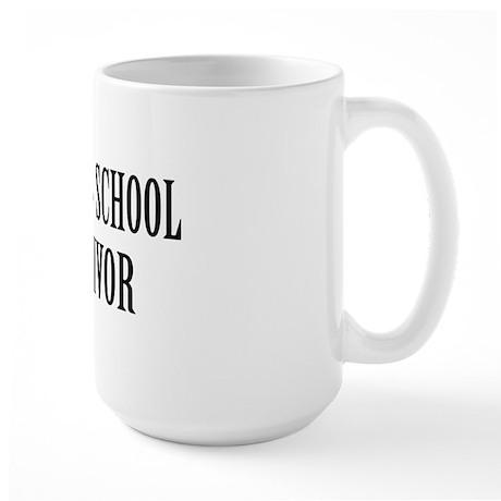 Survived Med School Large Mug