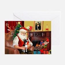 Santas Boston T Greeting Cards (Pk of 20)
