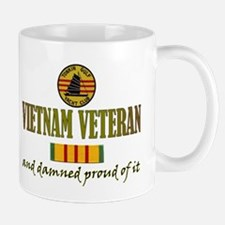 Proud Vietnam Vet USN Small Mugs