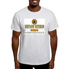 Proud Vietnam Vet USN T-Shirt