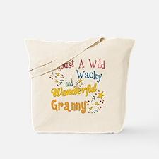 Wild Wacky Granny Tote Bag