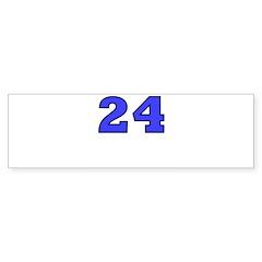 Twenty-four Bumper Sticker (50 pk)