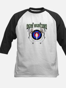 Bow Hunting Kids Baseball Jersey