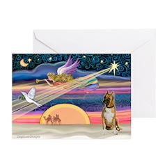 XmasDove/Boxer Greeting Cards (Pk of 20)