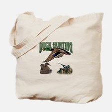 Duck Hunting Tote Bag
