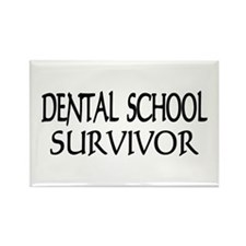 Dental School Graduation Rectangle Magnet