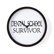 Dental School Graduation Wall Clock