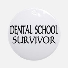 Dental School Graduation Ornament (Round)