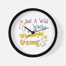 Wild Wacky Grammy Wall Clock