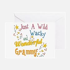 Wild Wacky Grammy Greeting Card