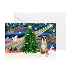 XMagic-Boxer (nat) Greeting Cards (Pk of 10)