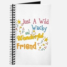 Wild Wacky Friend Journal