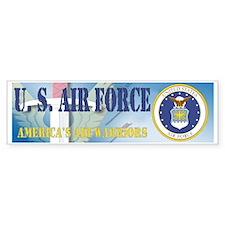 USAF @ 60 Bumper Bumper Sticker