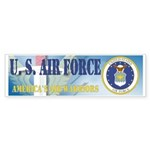 USAF @ 60 Bumper Sticker (10 pk)