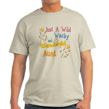 Wild Wacky Aunt Light T-Shirt