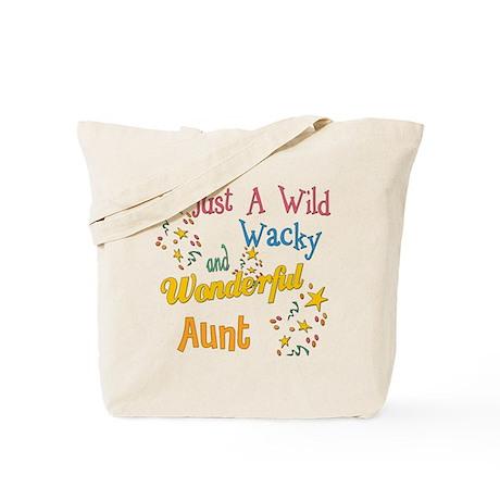 Wild Wacky Aunt Tote Bag