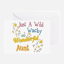 Wild Wacky Aunt Greeting Card