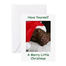 Merry Little Christmas Greeting Cards (Pk of 10)