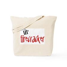 lil' firecracker Tote Bag