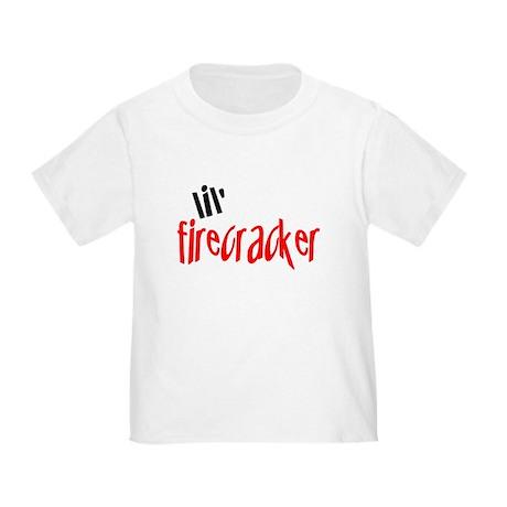 lil' firecracker Toddler T-Shirt