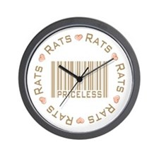 Sweet Rats Priceless Wall Clock
