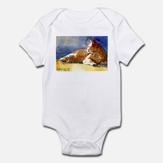 Sunlit Cat Infant Bodysuit