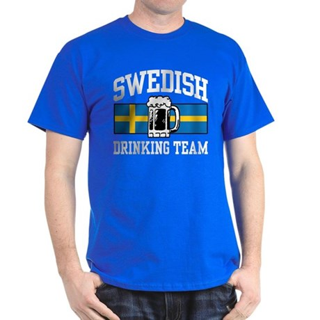 Swedish Drinking Team Dark T-Shirt