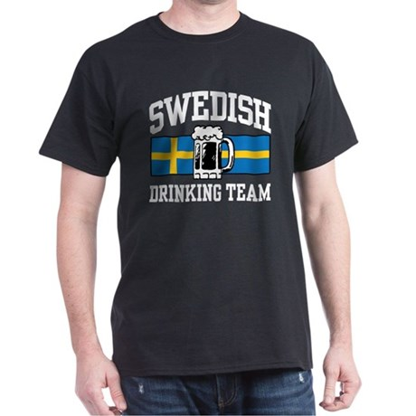 Swedish Drinking Team Dark T-Shirt