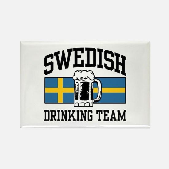 Swedish Drinking Team Rectangle Magnet