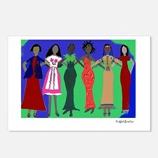Women in Peace 1 Postcards (Package of 8)