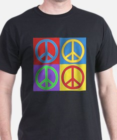 Peace Pop Art T-Shirt