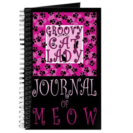 GROOVY CAT LADY Journal