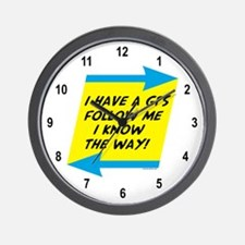 Follow Me Wall Clock