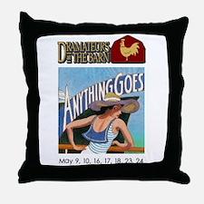Funny Logo Throw Pillow