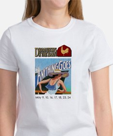 Cute Colleges logo Tee