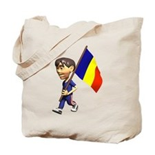 3D Romania Tote Bag