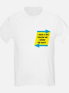 Follow Me Pocket Image T-Shirt