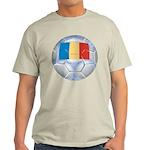 Romania Soccer Light T-Shirt