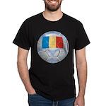 Romania Soccer Dark T-Shirt