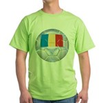 Romania Soccer Green T-Shirt