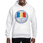 Romania Soccer Hooded Sweatshirt