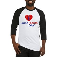 I Heart Juneteenth Day Baseball Jersey